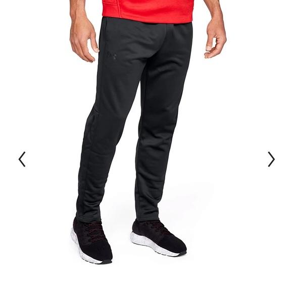 Men's Under Armour Armour Black XL Fleece Pants